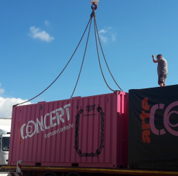 container tournee evenementiel france allemagne